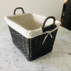 Large Beautiful Wicker Basket